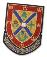 photo of Queens Kingston Ontario Canada crest